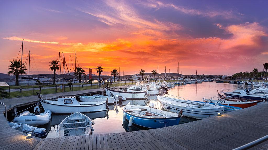 Porticciolo Tramonto Golfo Aranci